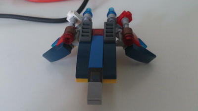 Small old legofighter  by ZonicBoom97