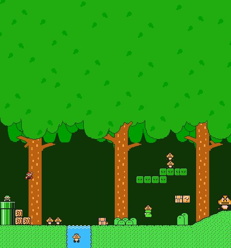 SMB3 Forest Concept For SMM2