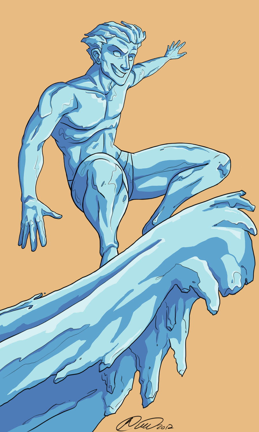 I is for Iceman by jillybean200x