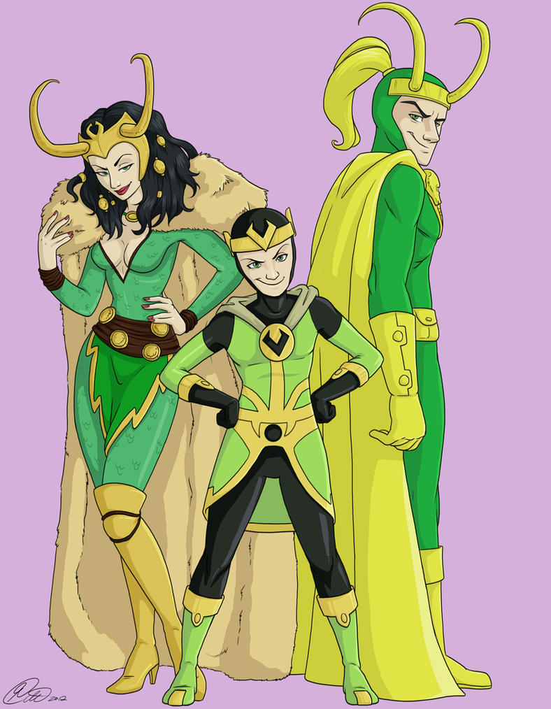 L is for Loki by jillybean200x