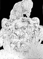 Akira Tetsuo by BrofesserDRAWSstuff