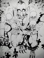 Sky King - One Punch Man by BrofesserDRAWSstuff