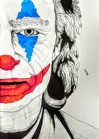 The Joker - Joaquin Phoenix by BrofesserDRAWSstuff