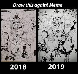 Improvement meme! by BrofesserDRAWSstuff