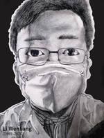 Li Wenliang Portrait (1985 - 2020) by BrofesserDRAWSstuff