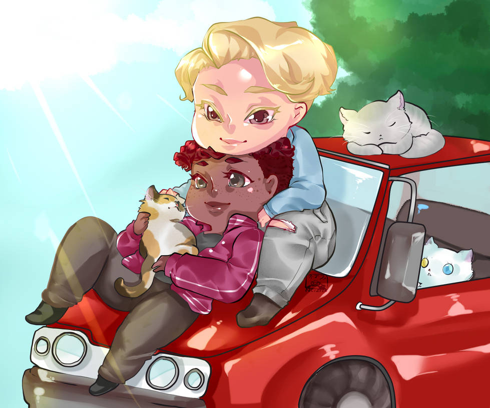 chibi_couple_w_bg_by_caim_the_order_ddbz