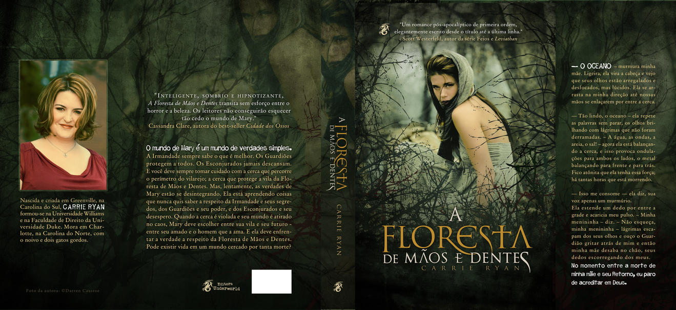 Book Cover Design Deviantart : Book cover design the forest of hands and teeth by