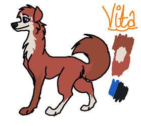 Vita's new ref sheet