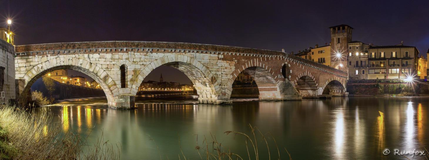 Ponte Pietra by Runfox