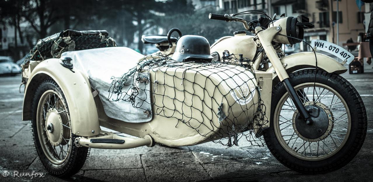 Russian sidecar WWII by Runfox