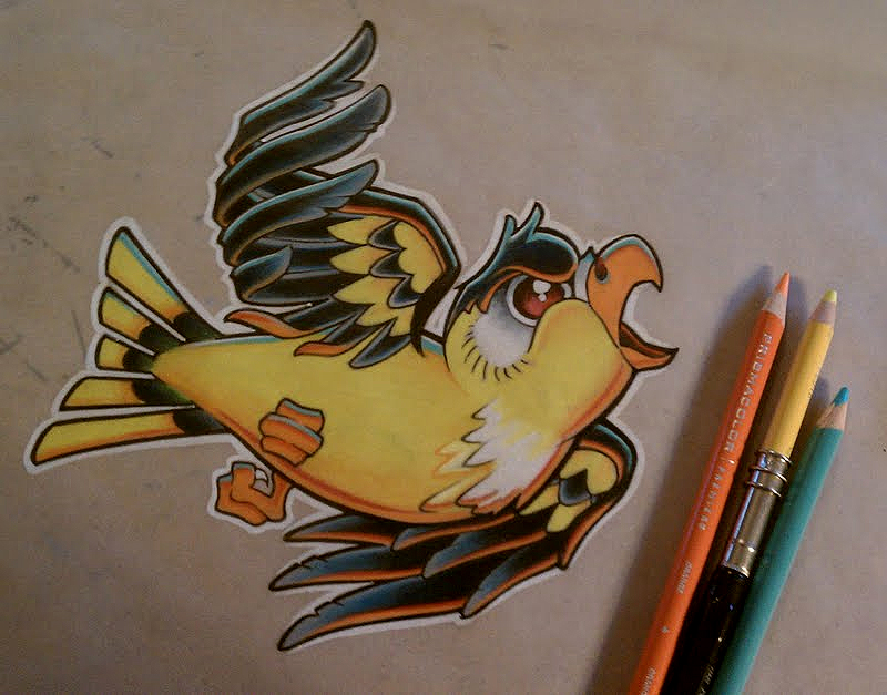 Goldfinch by GrizzlyGreenEyes