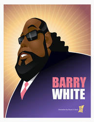 The Legendary Barry White by braeonArt