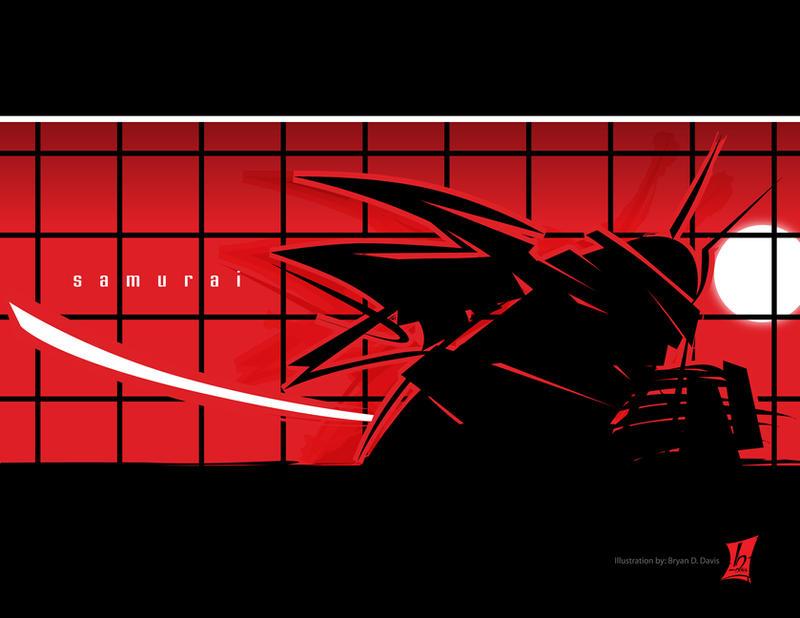 Samurai by braeonArt