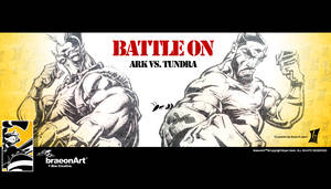BATTLE ON ARK vs TUNDRA
