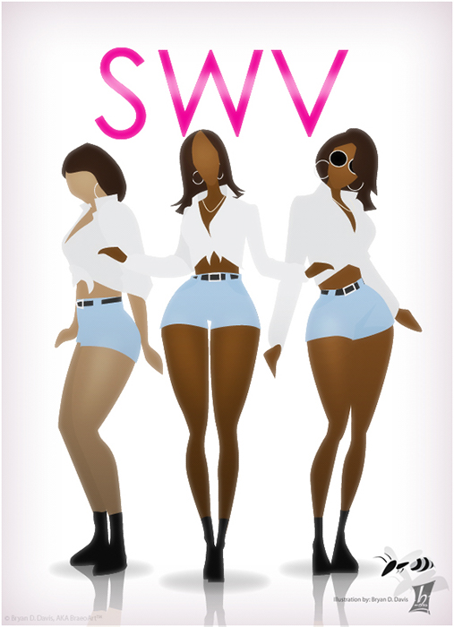 Shout out to SWV by braeonArt