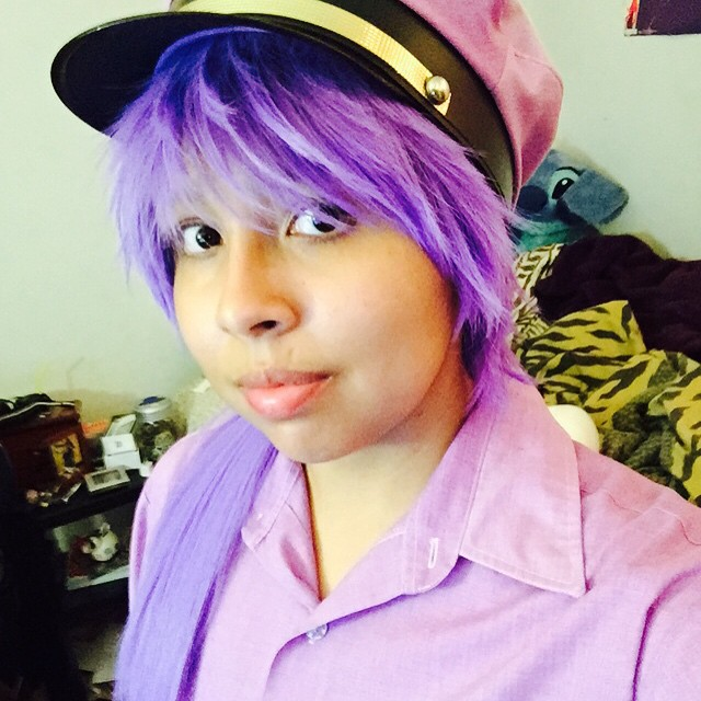 Vincent purple guy cosplay test 2 by dominaneko