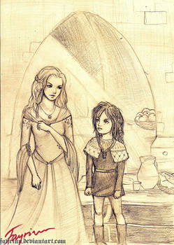 [ASOIAF] The Wolf Sisters
