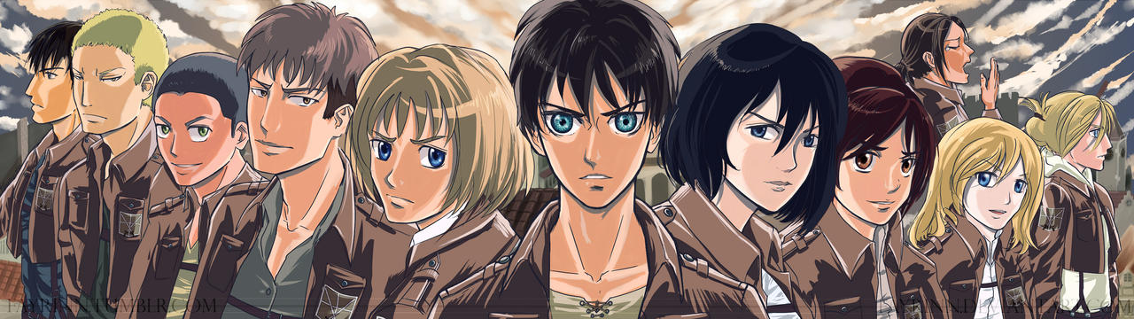 [Shingeki no Kyojin] Trost Survivors by fayrinn