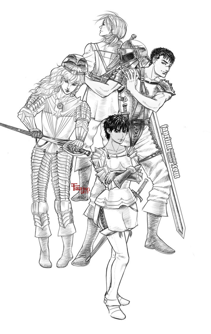 [Berserk] Happier Times by fayrinn