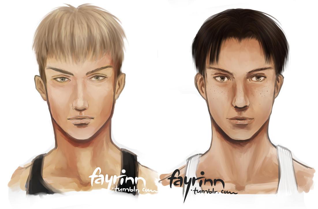 [Shingeki no Kyojin] Jean, Marco by fayrinn