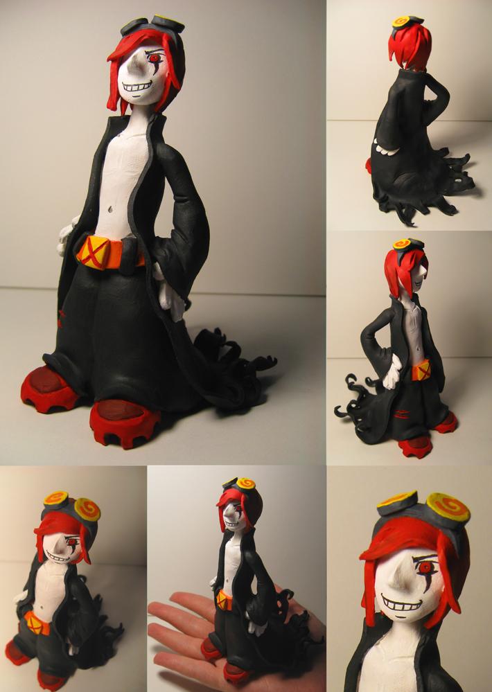 Jack Spicer Sculpture by JenKristo