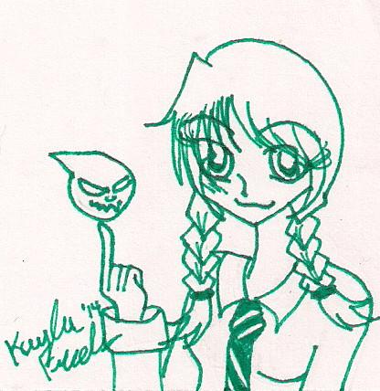 green Soul by rumiko18