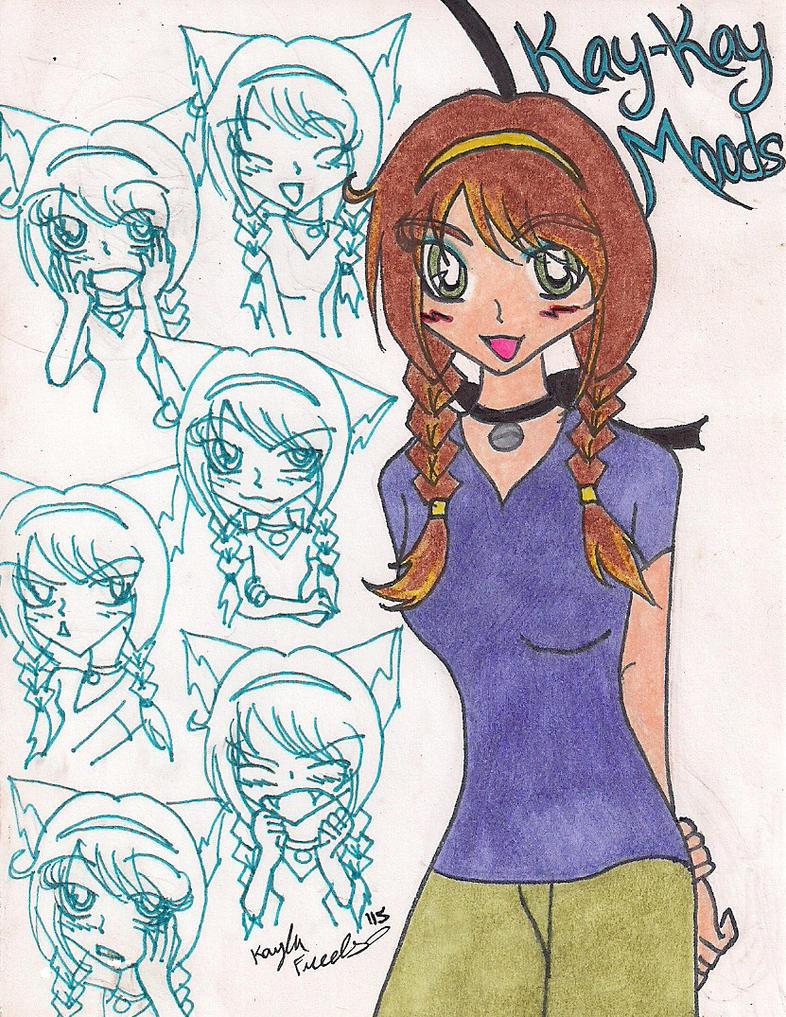 Kay-Kay's Moods by rumiko18