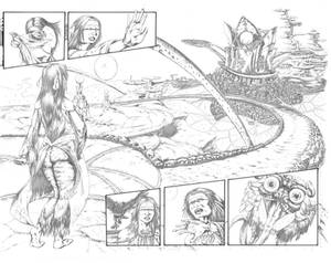 Between Pages 6 spread