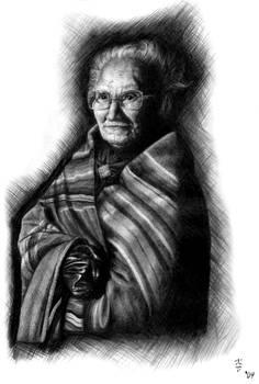 Elderly Native lady