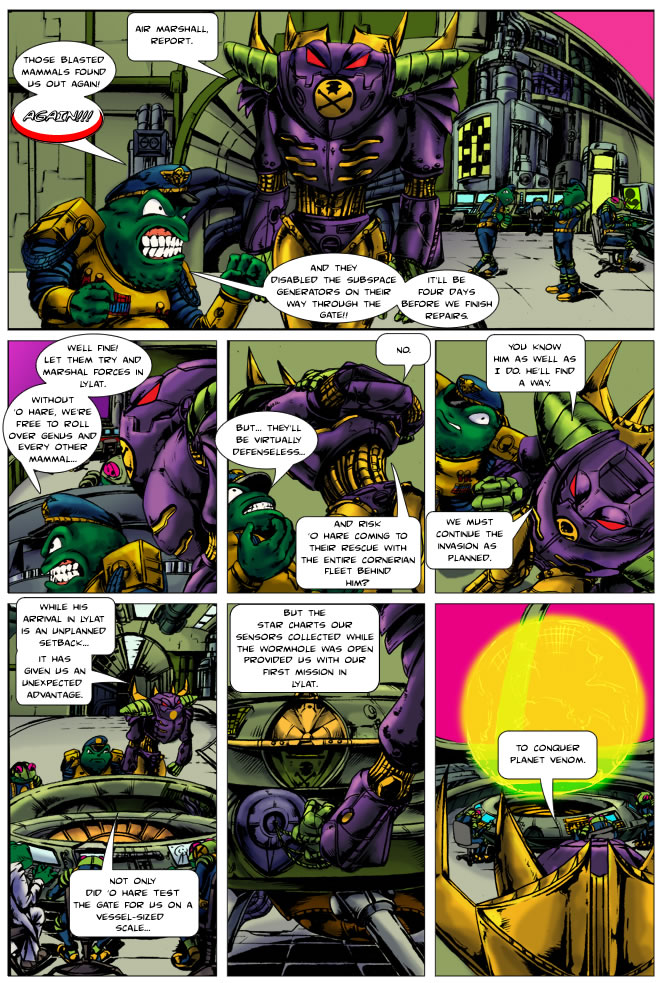 Krisis in Korneria page 8