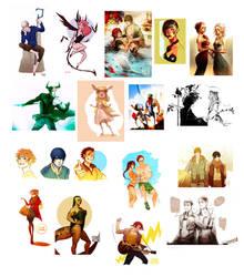 Tumblr dump 2 by Blanca-J-E