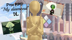 MMD Pose My Diamond DL