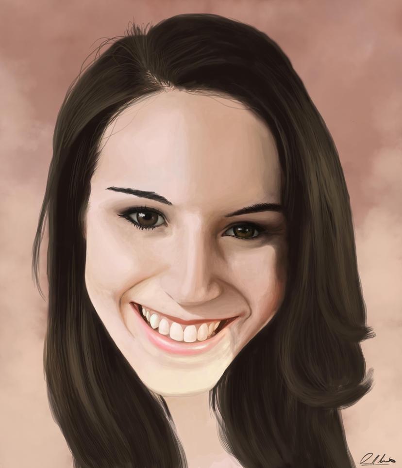 Ashley Portrait by moggo23
