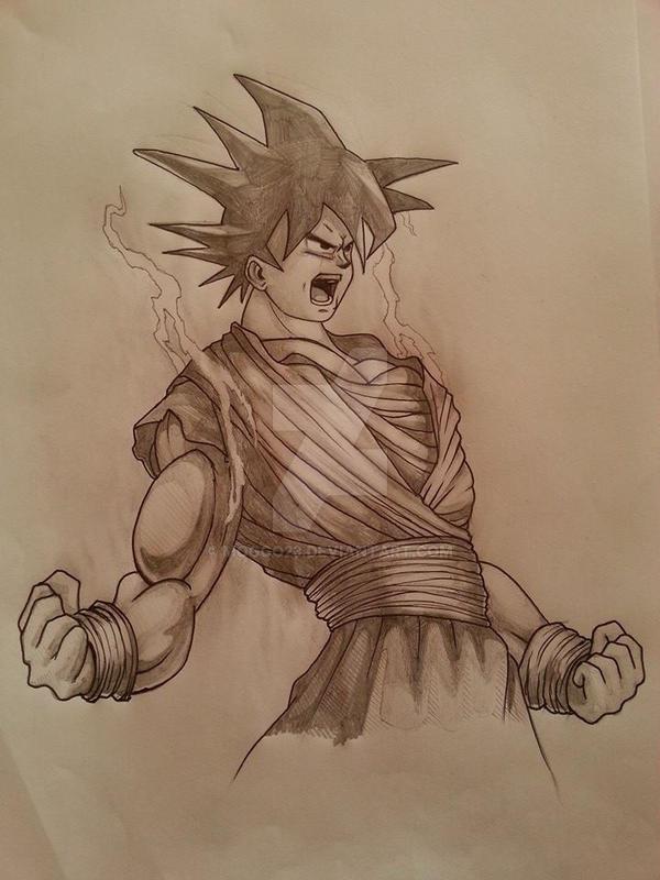 Goku by moggo23