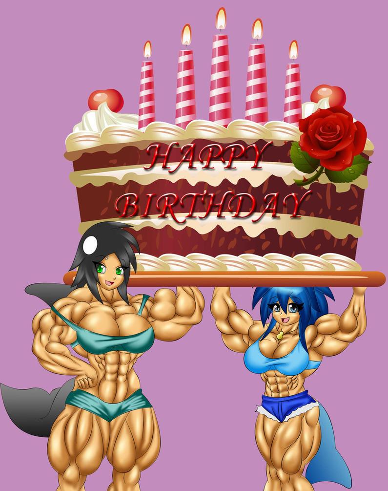 Happy Birthday By Siegfried129 On Deviantart Happy Birthday Wishes Bodybuilders
