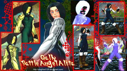 SFxTEK PC - GALLY (battle angel alita) by Siegfried129