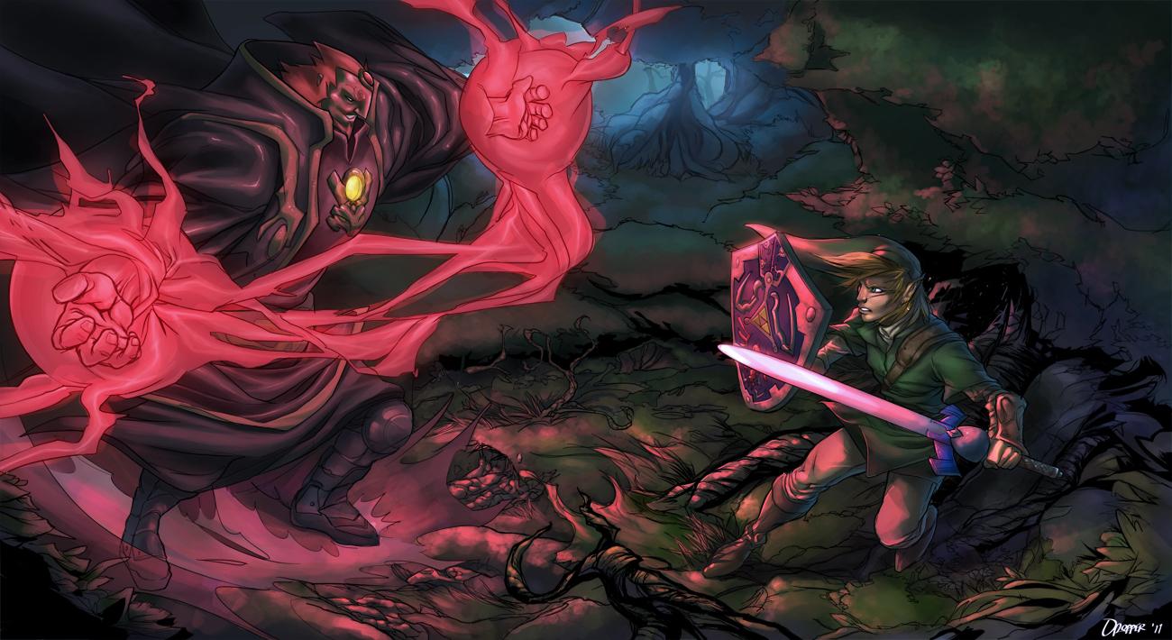 Link Vs Ganondorf Wallpaper