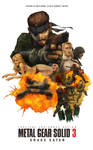 MGS3 Snake Eater Movie Poster