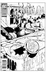 Death of a Superhero Inks by DRPR