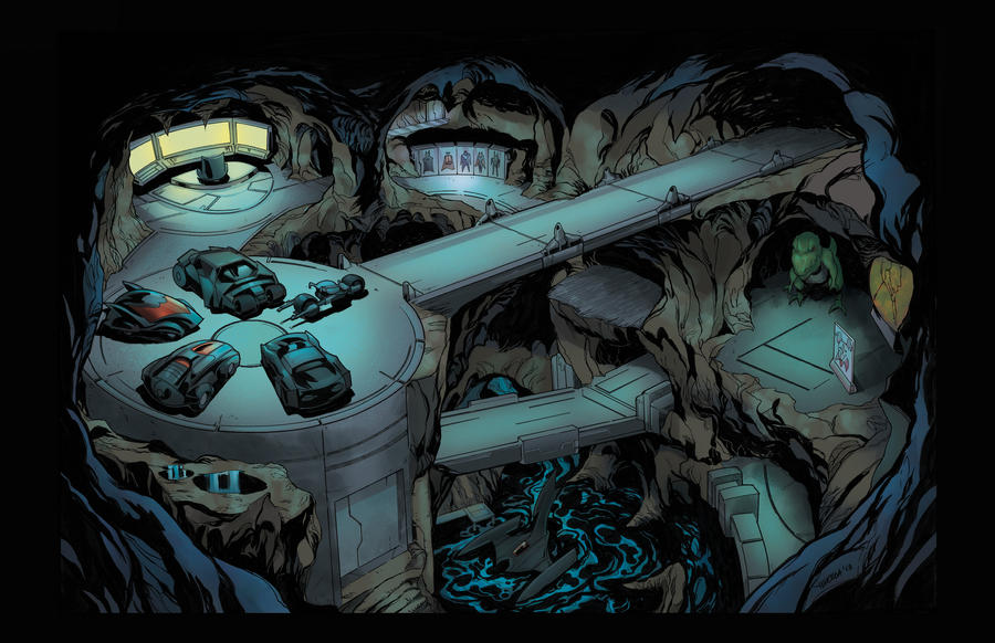 Knights in Gotham [Hawkman] Batcave_colors_by_drpr-d5xgn4d
