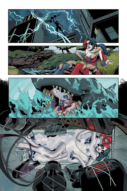Harley Quinn colors by DRPR