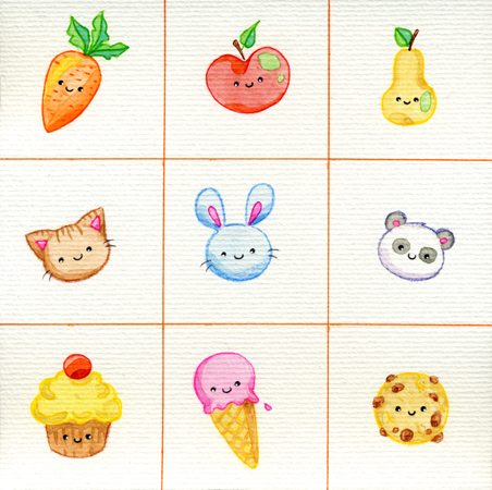 9 Cuties by yuki-the-vampire