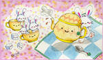 Valentine's Bunny Teaparty