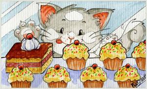 Kitties Love Sweeties