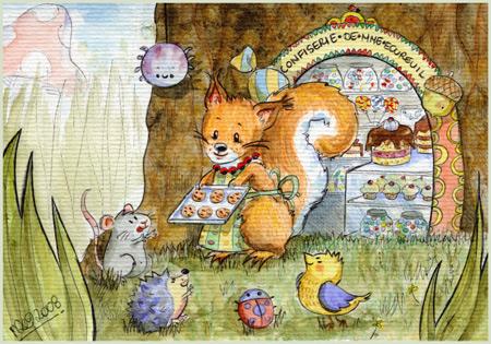 MadameSquirrel'sConfectionery by yuki-the-vampire