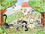 5 Cuties - Karma021 COMMISSION