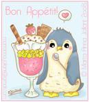 Cute IceCream Penguin :3