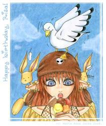 RosyJo and ice-cream by yuki-the-vampire