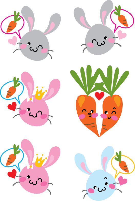 Cute stickers by yuki-the-vampire on DeviantArt