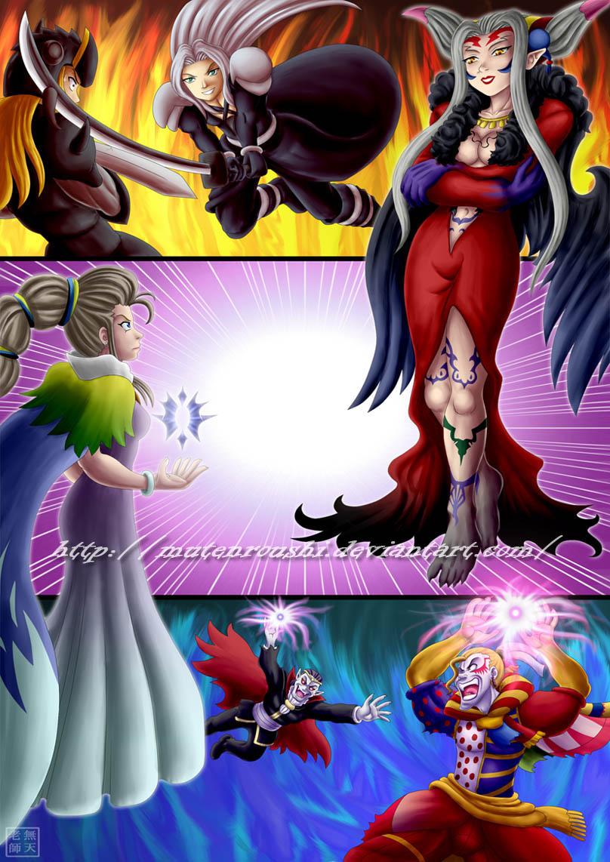 Suikoden vs Final Fantasy by Mutenroushi